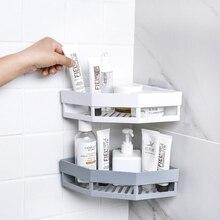 Shower Shelves Basket Rack Storage-Holder Wall-Hanger Kitchen-Organizer Bath-Acc Nordic