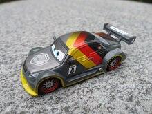 Disney Pixar Autos 1:55 Carbon Faser Racer Max Schnell Metall Diecast Spielzeug Autos Neue Lose