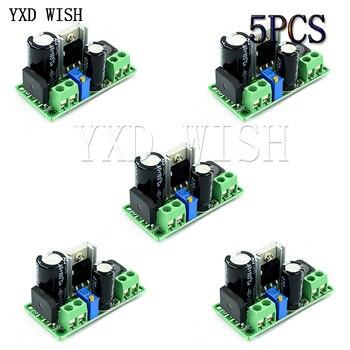 5 uds LM2596HV AC/DC-DC paso módulo convertidor de bajada LM2596 DC v 3,3 V 5V 6V 9V 12V 15V 24V DC 5V-50v tensión regulable regulador