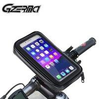 Suporte de celular para motocicleta  guidão à prova d'água e rotativo 360 para telefone móvel de 4-6.5 ''xr x 11