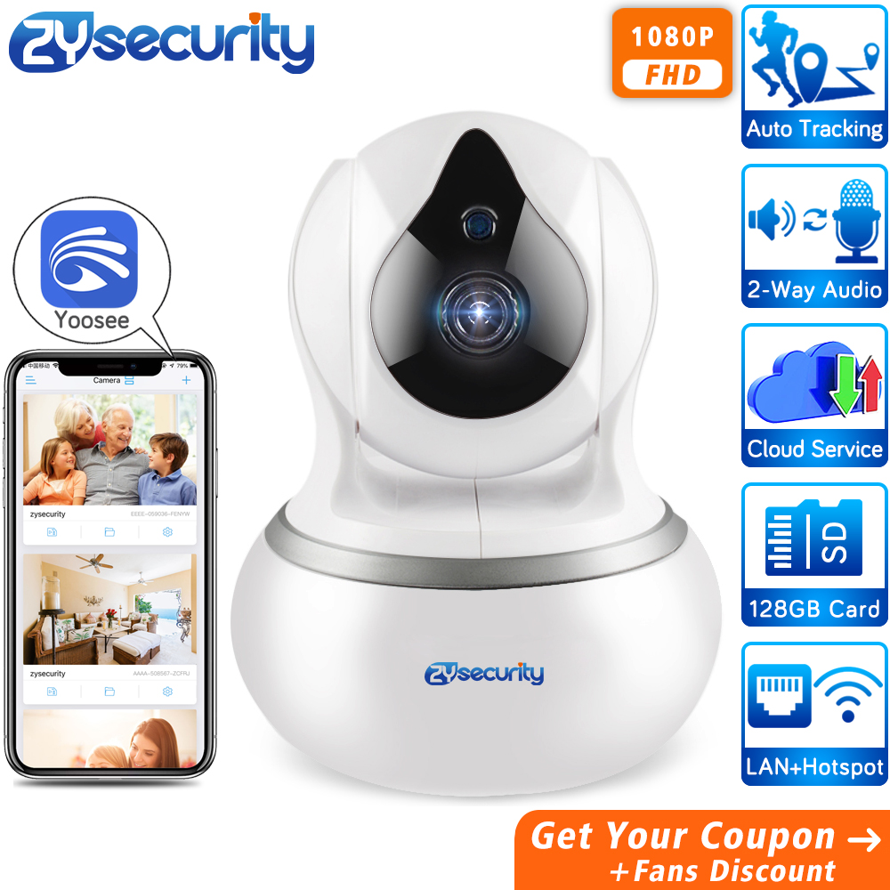 HD 1080P Wireless Home Security IP Camera Auto Tracking Video Surveillance CCTV Security Camera WiFi Cloud Yoosee Baby Monitor