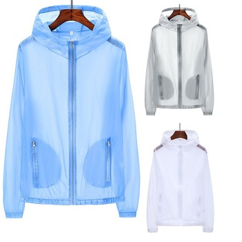 New Sun Protection Clothing Female Outdoor Skin Clothing Breathable Quick-Drying Anti-UV Charge Jacket Summer