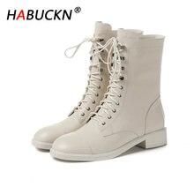 Habuckn/Новинка; Модные высококачественные женские ботильоны