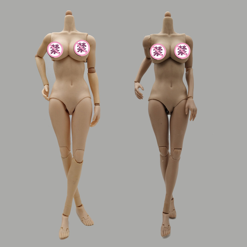 12in Female Soldier Body Super-Flexible Doll Model Big Breast for <font><b>1</b></font>/<font><b>6</b></font> <font><b>Scale</b></font> Phicen Tbleague Head Sculpt <font><b>Action</b></font> <font><b>Figure</b></font> <font><b>toy</b></font> image