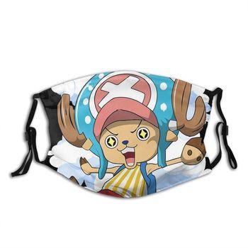 Mascarilla de Tony Tony Chopper reutilizable One Piece Mascarillas de Anime Mascarillas de One piece Merchandising de One Piece