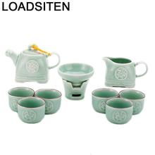 With Infuser Kung Fu Garden Chinese China Afternoon Mutfak Dekoration Home Decoration Accessories Teaware Pot Teapot Tea Set