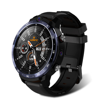 LEMFO LEM12 Pro 4G 64G Smart Watch 4G 1.6Inch 400*400 Resolution Wireless Projection Android 10 Face ID Dual Camera LEM12pro 1