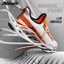 Abhoth New Breathable Sneakers Comfortable Flying Mesh Men's Shoes Outdoor Non-slip Wear-resistant Casual Shoes Big Size 48