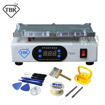 TBK LCD Middle Frame Heating Separating Machine For iPhone X XR XS Xs Max LCD Frame Remover Separation Refurbish Heating Table