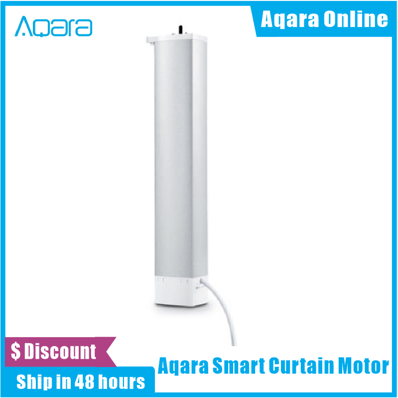 In Stock Aqara Smart Curtain Motor Intelligent Zigbee Wifi For xiaomi Smart Home Device Wireless Remote Control Via Mi Home APP