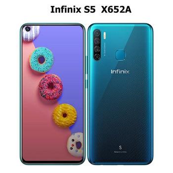 Перейти на Алиэкспресс и купить New Global Infinix S5 4G LTE мобильный телефон с двумя sim-картами 6 ГБ ОЗУ 128 Гб ПЗУ MT6762 OctaCore 6,6 дюйм720x1600P 4000 мАч Android смартфон