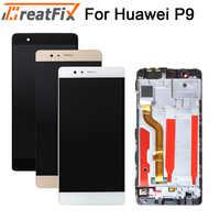 5,2 ''Für Hua Wei P9 EVA-L09 L19 L29 LCD Display Mit Touch Screen Digitizer Montage mit rahmen kostenloser versand EVA-L19 lcd