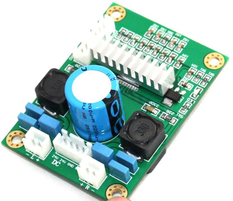 placa de amplificador de potência digital de canal duplo