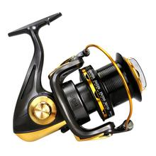 New TF Large Size Fishing Reel Metal CNC Rocker Spinning For Saltwater Sea