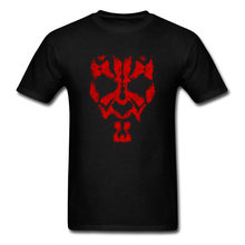 Round Collar Star Wars Darth Maul Grunge Michael Jackson Fabric Men T-shirts Summer Tops Tees 2018 Popular T-Shirt Icon Sleeve(China)