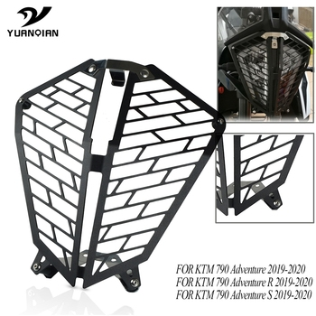 Motorcycle Aluminum Headlight Protector cover grill For KTM 790 Adventure 790 AdventureR/S 790 ADV /R/S 2019-2020 Accessories