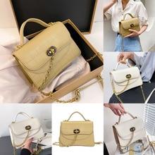 Handmade Bag Chain Square-Bag Small One-Shoulder Portable Summer Women's New-Fashion