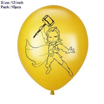 1set 3D Big Spider Supper Hero Man Mylar Foil Balloon Number Foil Balloons Birthday Party Decoration Supplies Children's Gifts 10