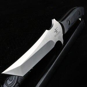 Image 1 - XUANFENG cuchillo táctico con cuchillo afilado, herramienta EDC para acampar, cuchillo de rescate táctico, cuchillo de supervivencia