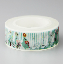 Happy Elephant Washi Masking Tape (1 Buah)(China)