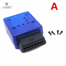 Automotive OBD2 Welding Female 16pin Diagnostic Interface car OBD Plug OBD2 Hous