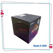 AMD Ryzen 3 1200 R3 1200 3.1 GHz Quad Core Quad ด้าย CPU โปรเซสเซอร์ YD1200BBM4KAE ซ็อกเก็ต AM4 ด้วย cooler Cooling พัดลม