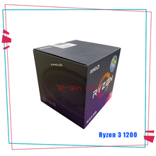 AMD procesador de CPU AMD Ryzen 3 1200 R3 1200 3,1 GHz Quad Core Quad Thread YD1200BBM4KAE Socket AM4 con ventilador de refrigeración