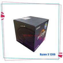 Amd ryzen 3 1200 r3 1200 3.1 ghz quad core processador cpu yd1200bbm4kae soquete am4 com ventilador de refrigeração mais frio