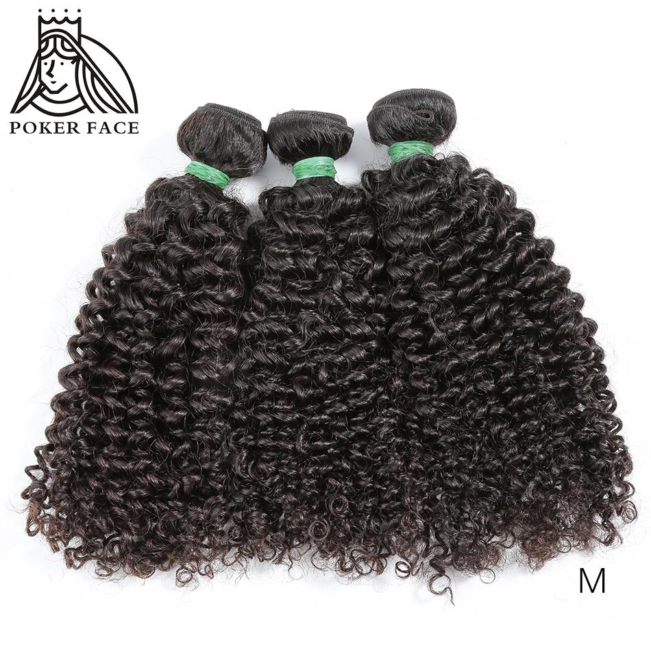 Kinky Curly Bundles Deals 1 3 4 Bundles 100% Human Hair Extensions Peruvian Hair 28 30 Inch Bundles Remy Middle Ration