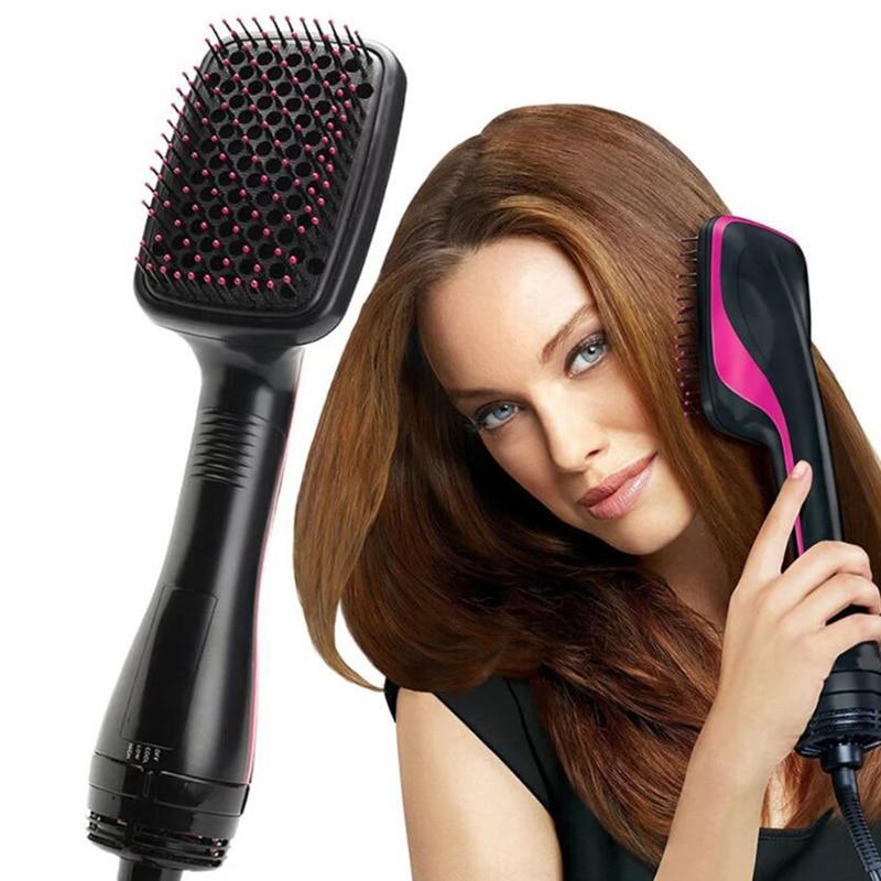 Профессиональный фен, высококачественные щетки с подогревом, щетка с горячим воздухом, фен для путешествий, расческа для горячих волос, фен,...