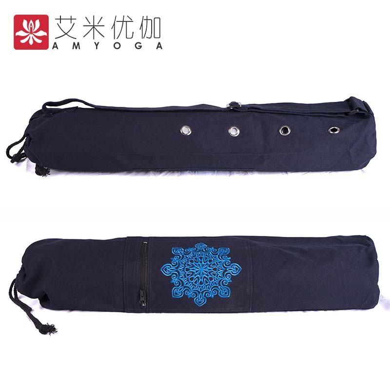 Durable Canvas Cotton Yoga Mat Bag Tote Bag Easy Loading Mat Free Shipping