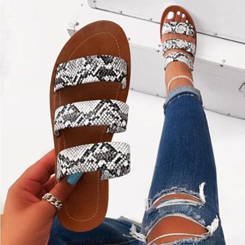 2020 Women Slippers Flat Candy Color Summer Female Cool Flip Flops Comfort Outside Beach Ladies Soft Slides Casual Shoes
