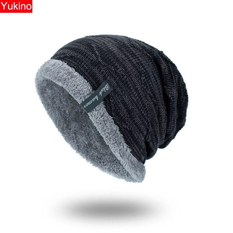 Winter Hat Men   Beanies   For Men Caps Fluffy Thick Kalpak Male Mens Winter Caps   Skullies   Bonnet Homme Hiver #815