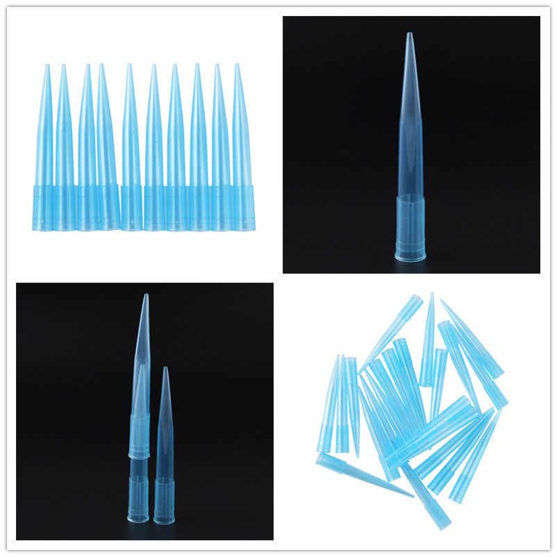 500 Uds 1ml 1000ul punta Pipettor Premium microquímico cientifica pipetas llenas de líquidos accesorios boquilla suministros de laboratorio