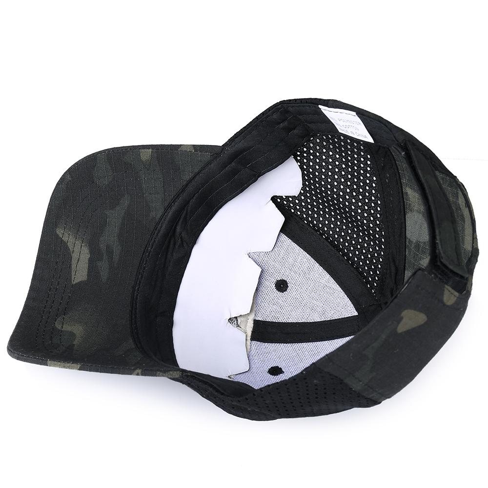 Skull Tactical Military Airsoft Cap Adjustable Breathable Sun Visor Trucker Hat Mesh Hunting Hiking Baseball Skeleton Snapback 28