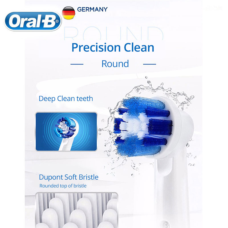 Oral B Electric Toothbrush 2D Precision Cleaning Whiten Teeth Inductive Charging Full Body Waterproof Teeth Brush Clearance Sale