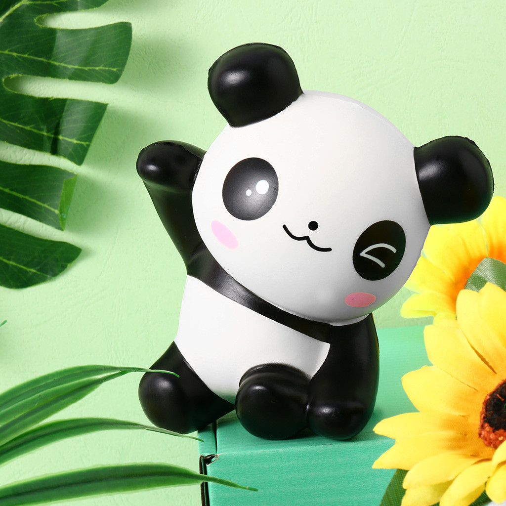 Relieves Antistress Anxiety Children Gift 4.7 Inches Squishier Panda Slow Rising Scented Kawaii Squishier Animal Toy L0117