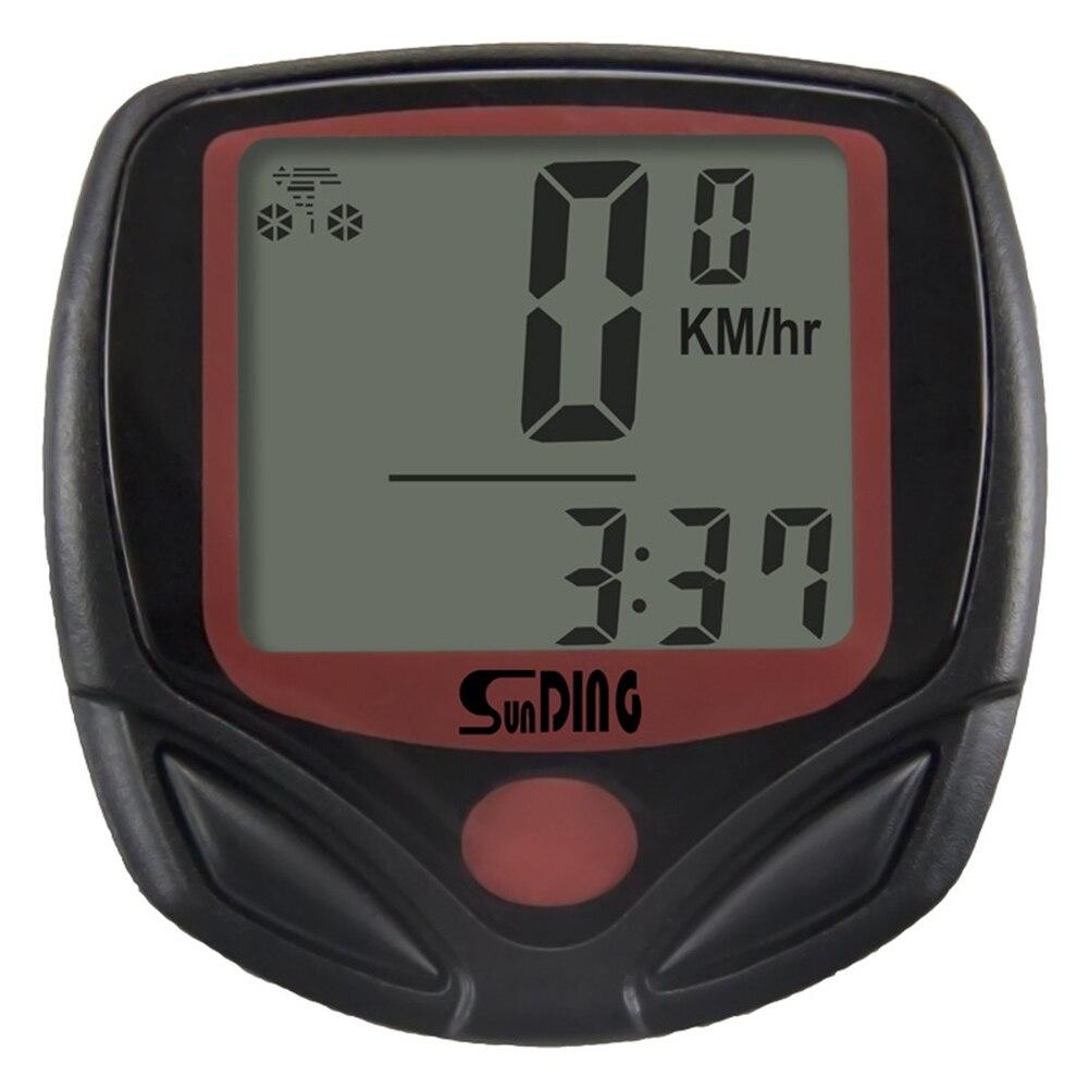 Waterproof MTB Bike Wire Code Table Cycling Equipment Digital LCD Display Stopwatch Exercise Timer Bicycle Speedometer Odometer