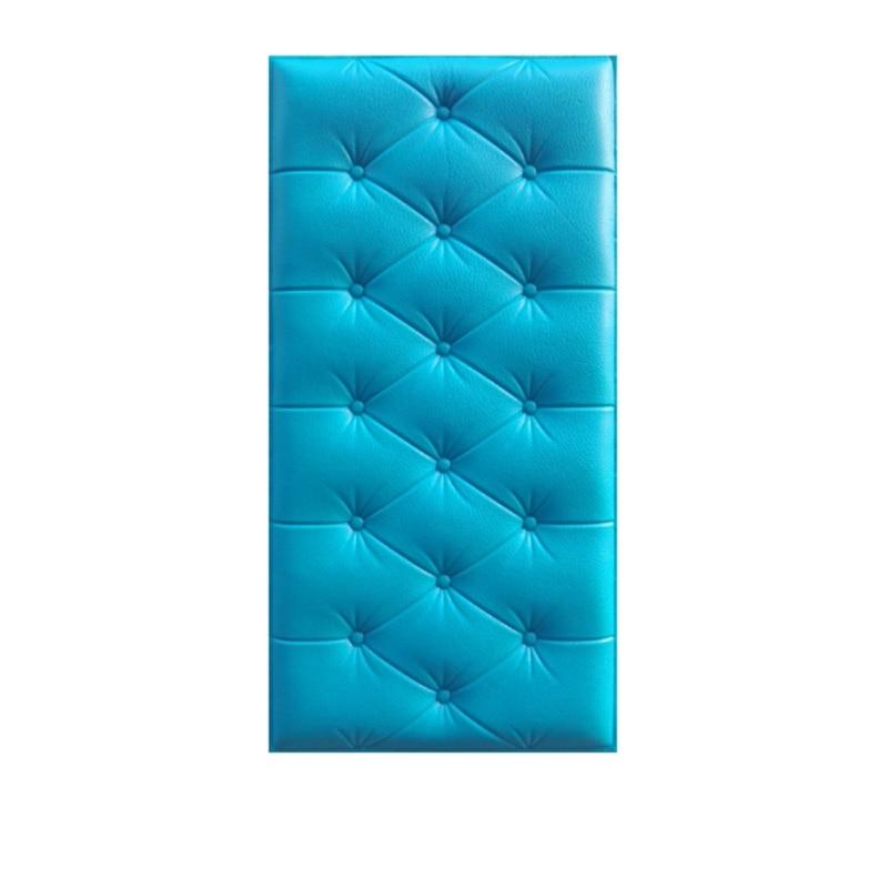 3D трехмерные наклейки на стену, утепленные татами, самоклеющиеся, анти-столкновения, настенный мат, детская спальня, кровать, мягкая подушка, Новинка - Цвет: L