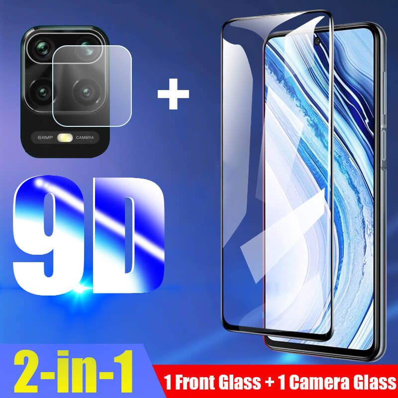 Tempered Glass For Xiaomi Redmi Note 9s Camera Protective Glass on Xiomi Redmi Note 8 Pro Poco F2 9 8T Note 8Pro Films Protector(China)
