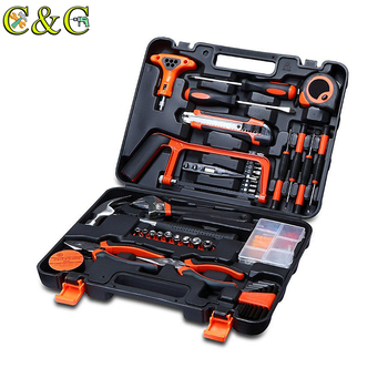 82Pcs Screwdriver Wrench Socket Pliers Hammer Home Hardware Combination Kit Maintenance DIY Tool Set
