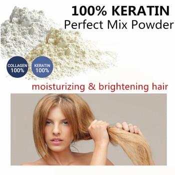 Sowsmile 100% queratina colágeno de seda natural hidratante reparação cabelo cuidado do couro cabeludo vitaminas tratamento perfeito mistura soro em pó gratuito brasil frete gratis para brasil 1