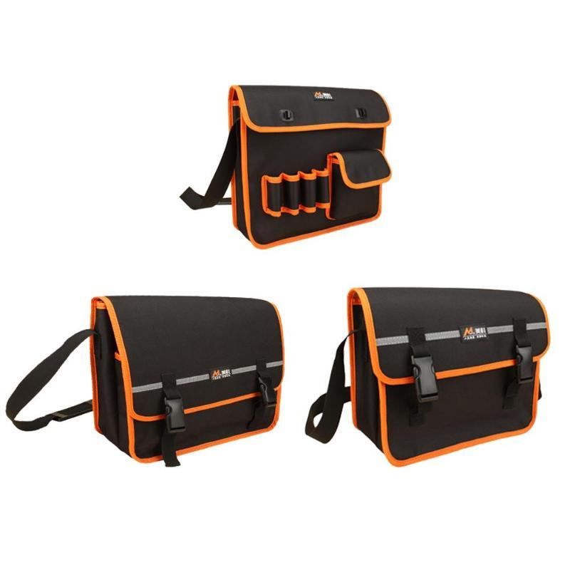 Toolkit Canvas Multifunctional Maintenance Hardware Tool Bag 35cm Large Dual-gear Single Shoulder Bag Waterproof Scratch-Proof
