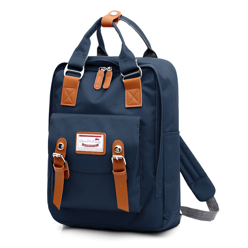 New Waterproof Nylon Backpack Shoulders USB Charge Pink Backpack Women 14.6 Inches Laptop Backpack Men Bagpack School Bags