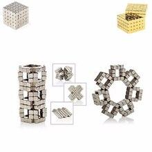 цена на 2020 216Pcs/set 3mm Magic Magnet PUZZLE Cube Magnetic Blocks Balls NEO Sphere Beads Building Toys DIY D3 Sphere Neodymium