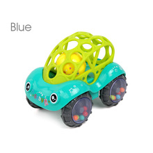 Bearoom Baby Rattles Mobiles Fuuny Baby Toys Intelligence Grasping Gums Soft Teether Plastic Hand Bell hammer Educational Gift