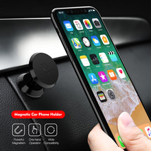 lovely pu cell phone holder w hook for car black red Magnetic Car Phone Holder For iPhone XS X Samsung Magnet Mount Car Holder For Phone in Car Cell Mobile Phone Holder Stand