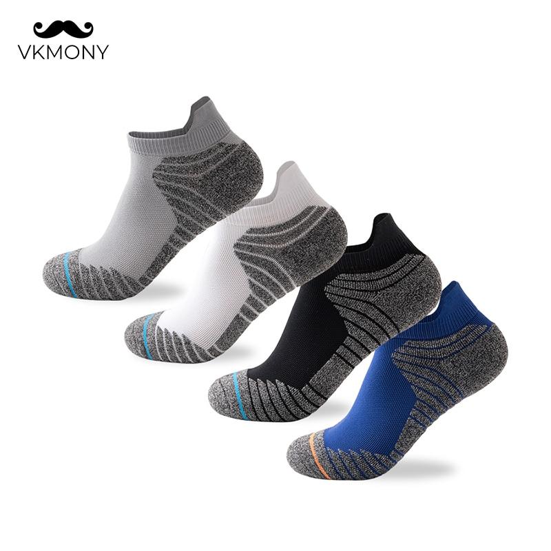 Men Athletic Socks No Show Running Socks Outdoor Man Sport Socks Cycling Walking Socks VKMONY