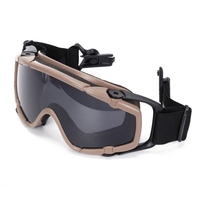 Airsoft Goggles Ballistic Glasses For Helmet Hunting Eyewear Paintball Eyes Protection CS Wargame Goggles With Case|Cycling Eyewear|Sports & Entertainment -