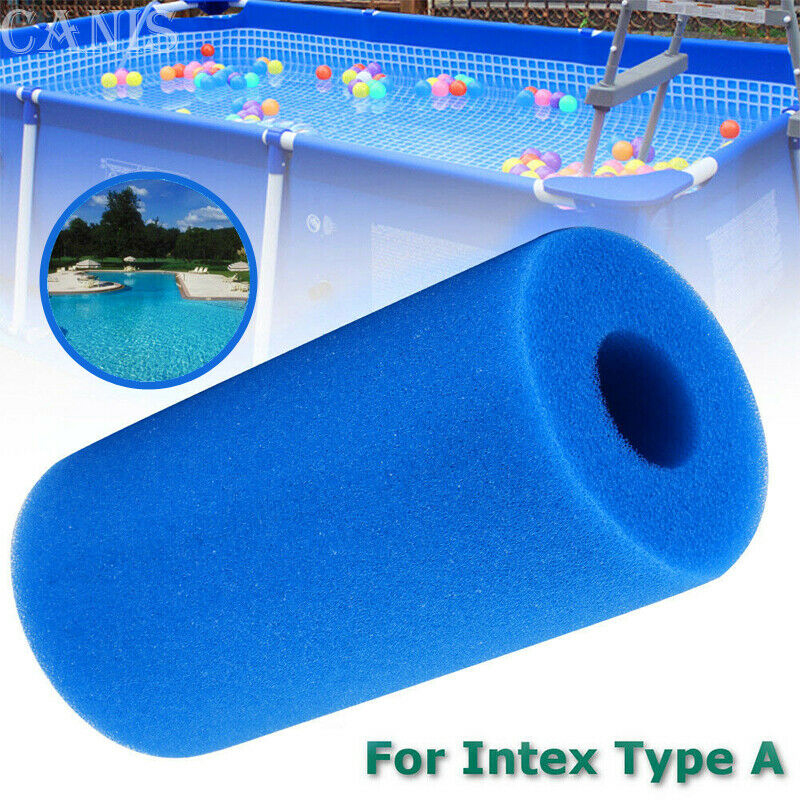 Swimming Pool Foam Filter Intex Type A Reusable Washable Swimming Pool Filter Foam Sponge Cartridge Swimming Pool Accessories